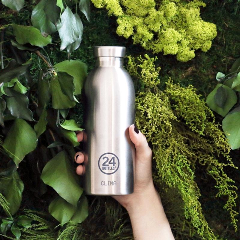 Clima Bottle, la bouteille isotherme de 24 Bottles, design et légère