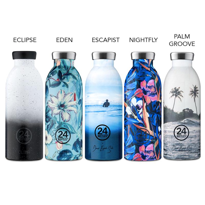 Bouteilles isothermes Clima Bottle collection Design de 24 Bottles