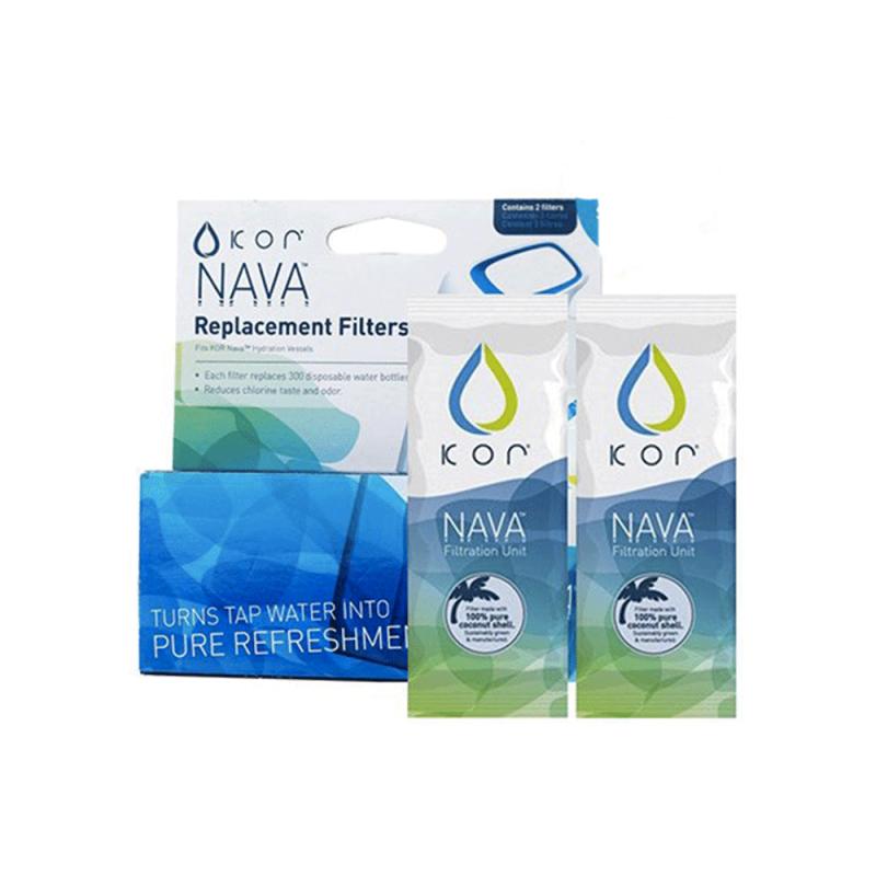 Filtres pour gourde filtrante Nava de Kor Water