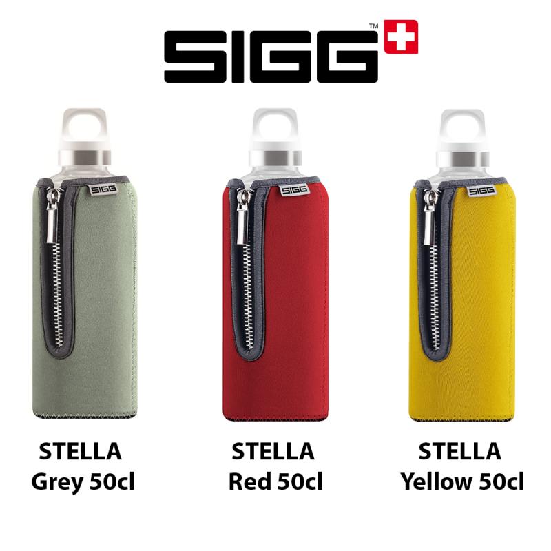 Gourdes Sigg Stella, des gourdes écologiques en verre design