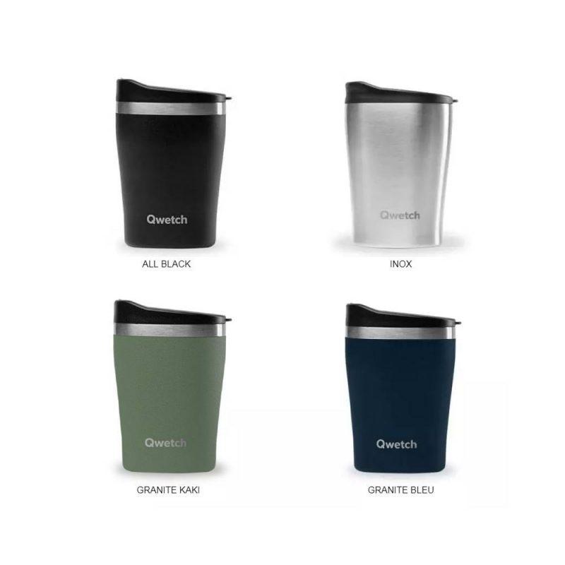 Mug isotherme 240 ml Qwetch, la boisson nomade devient tendance