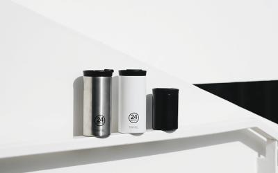 Mug de voyage : présentation des mugs 24 Bottles