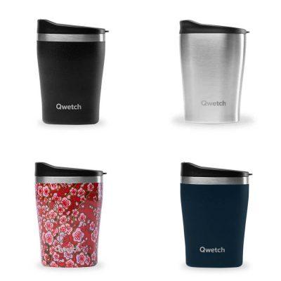 Mugs isothermes Qwetch, alternative au gobelet jetable