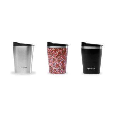 Mugs isothermes Qwetch, réutilisable et design