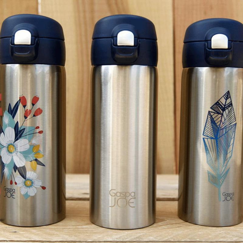 Thermos mug design et isotherme de Gaspajoe