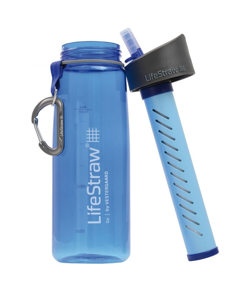 Filtre a eau portable Lifestraw, pour randonnées ou voyages
