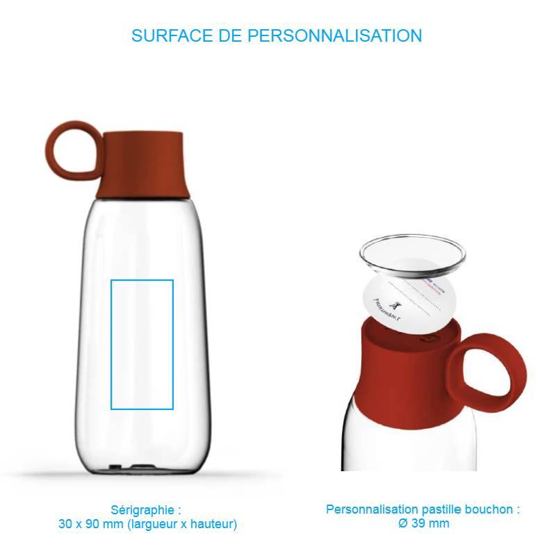 Gourde à personnaliser design et fabriquée en France / Pimp my bottle