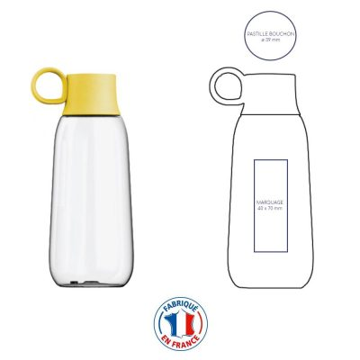 Gourde à personnaliser Yport, made in France
