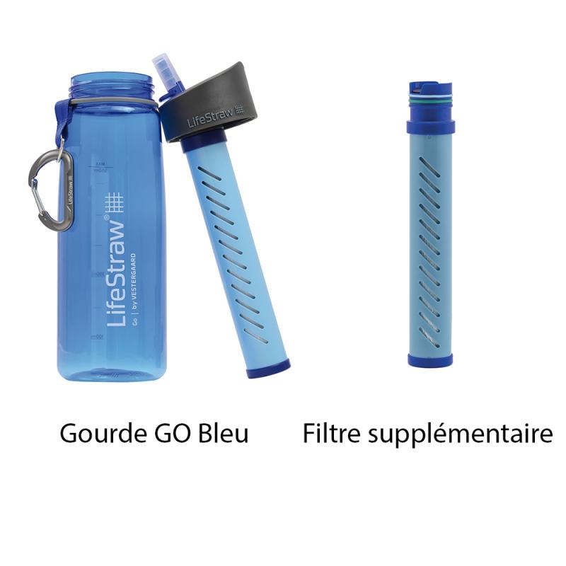 Gourde Lifestraw, une gourde filtrante pour eau non potable