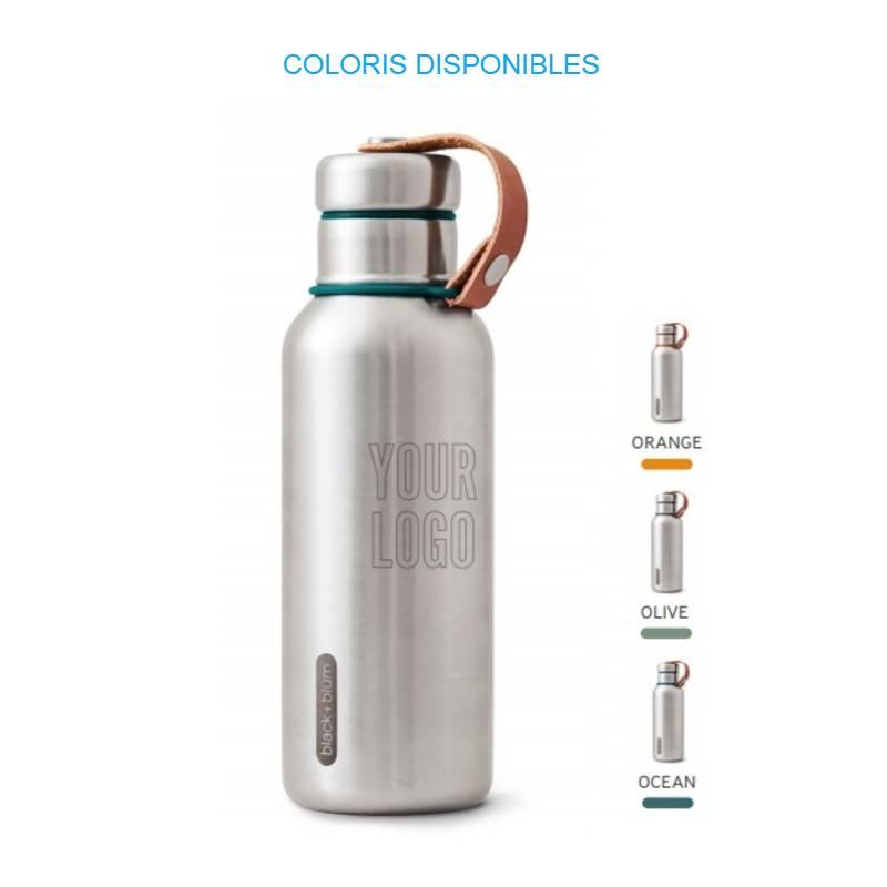 Gourde thermos personnalisable et design, bel outil de communication