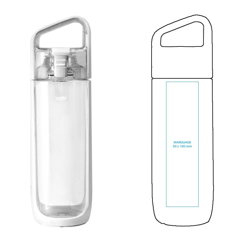 Bouteille d'eau publicitaire par Pimp my bottle