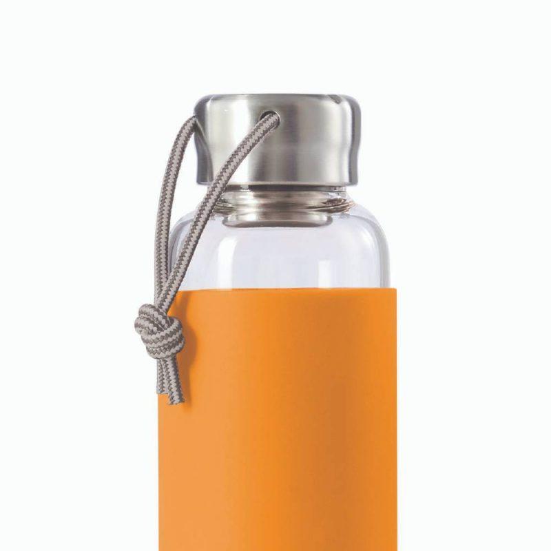 Bouteille en verre avec bouchon inox pour votre eau au quotidien