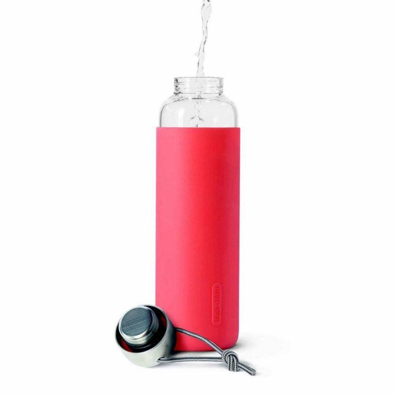 Glass water bottle black+blum, la nouvelle bouteille en verre design