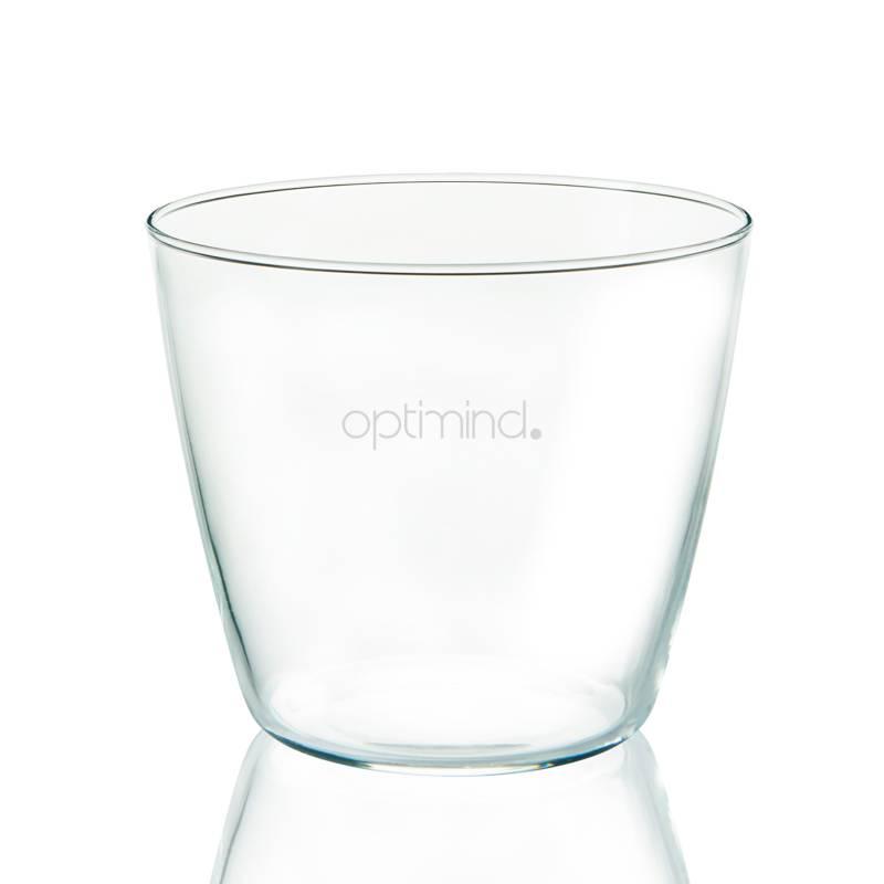 Verre d'eau personnalisé pour un service sur table optimal