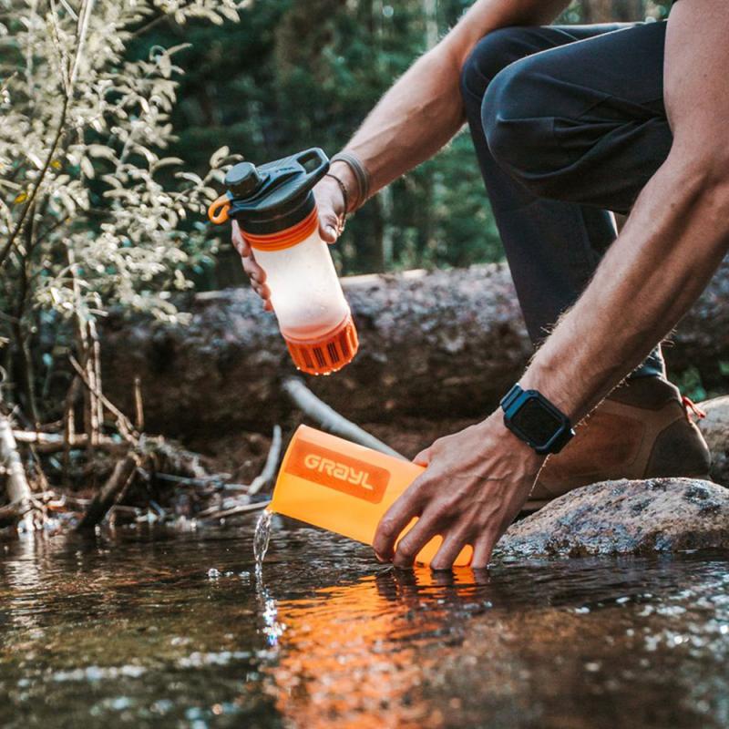 Grayl Geopress, un purificateur d'eau de randonnée efficace