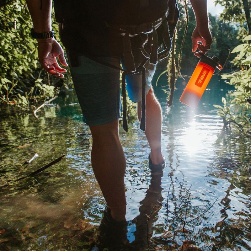Purificateur d'eau Geopress, purificateur d'eau de randonnée