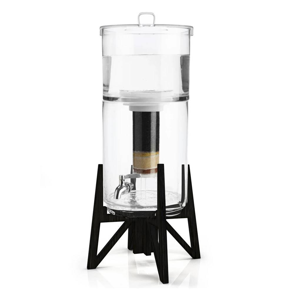 Fontaines filtrantes en verre Tower de Aquaovo