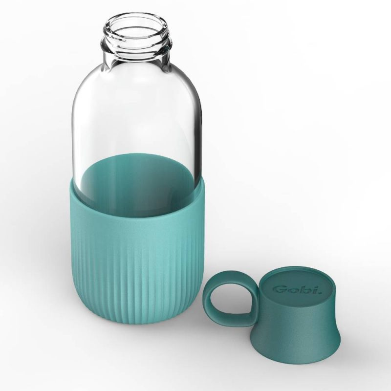 Gourde en verre fabriquée en France, personnalisable