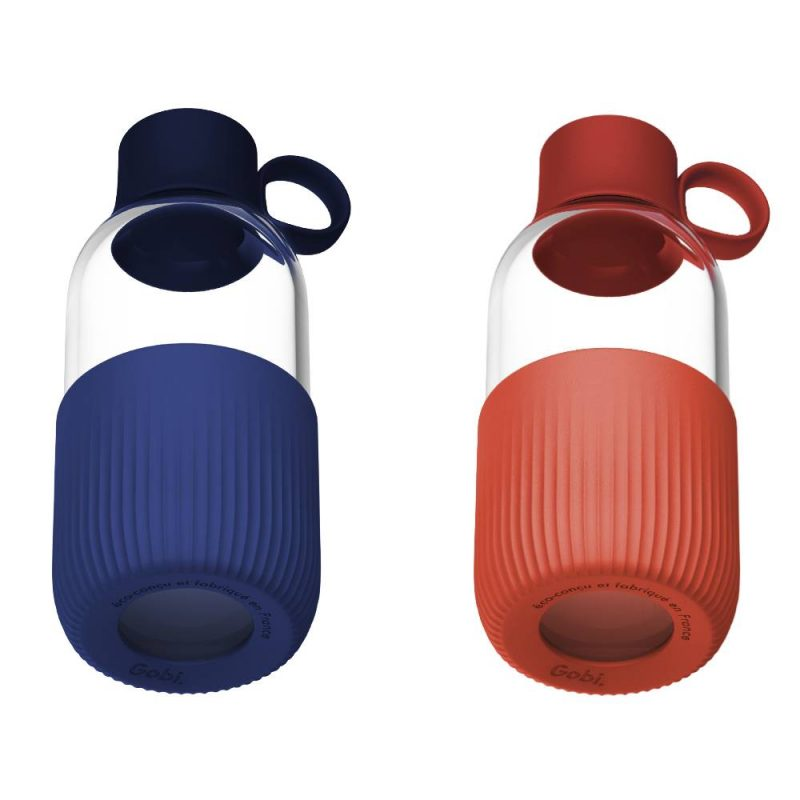 Gourde en verre Gobi de fabrication française