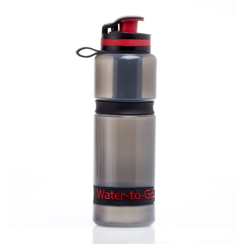 Gourdes filtrantes Water to go adaptées aux portes bidons de vélo