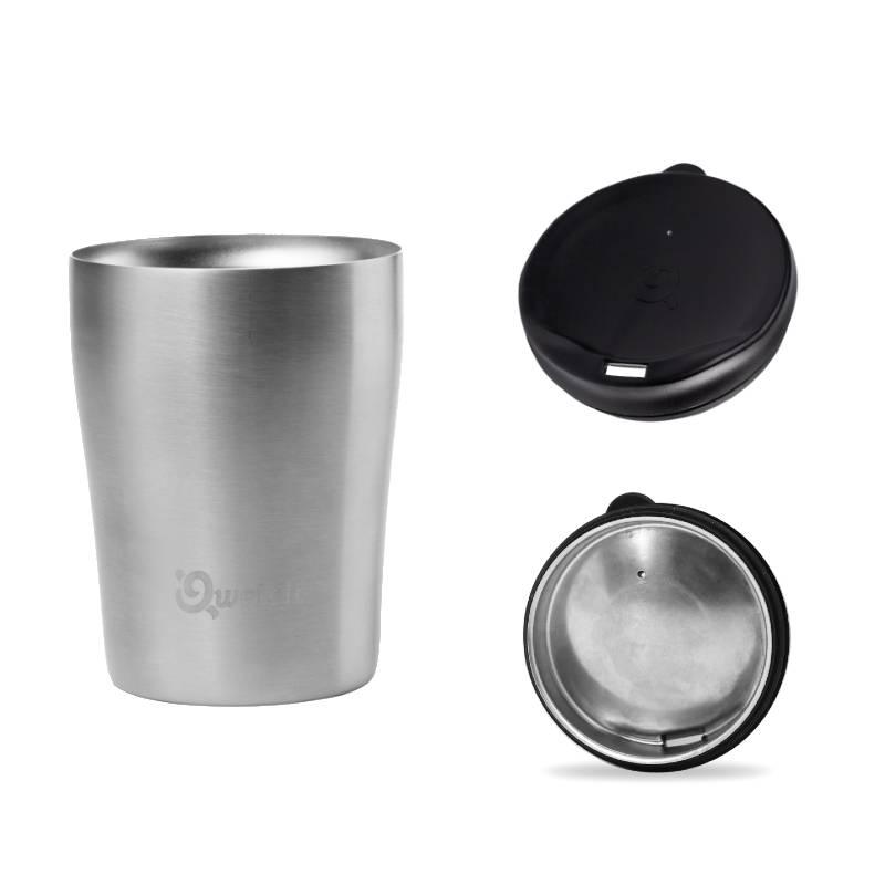 Mugs isothermes personnalisés avec couvercle amovible