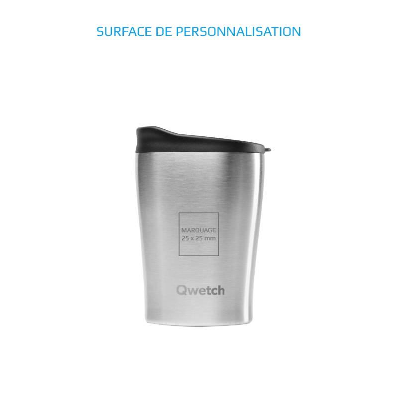 Mug isotherme publicitaire personnalisé au nom de votre entreprise