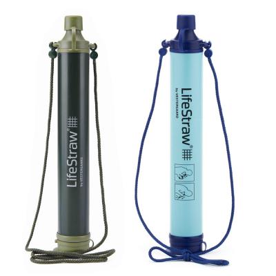 Paille filtrante Lifestraw pour potabiliser toutes les eaux