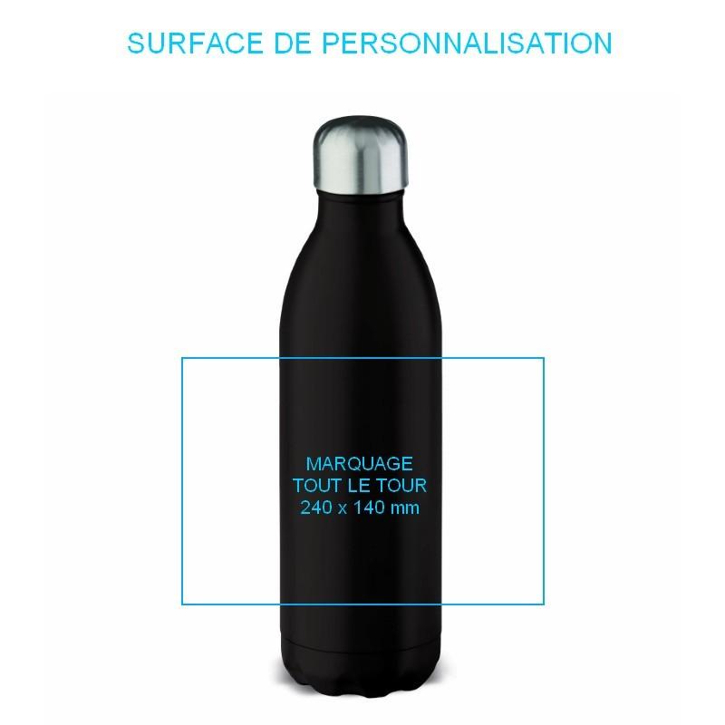 Bouteille personnalisée isotherme chez pimp-my-bottle