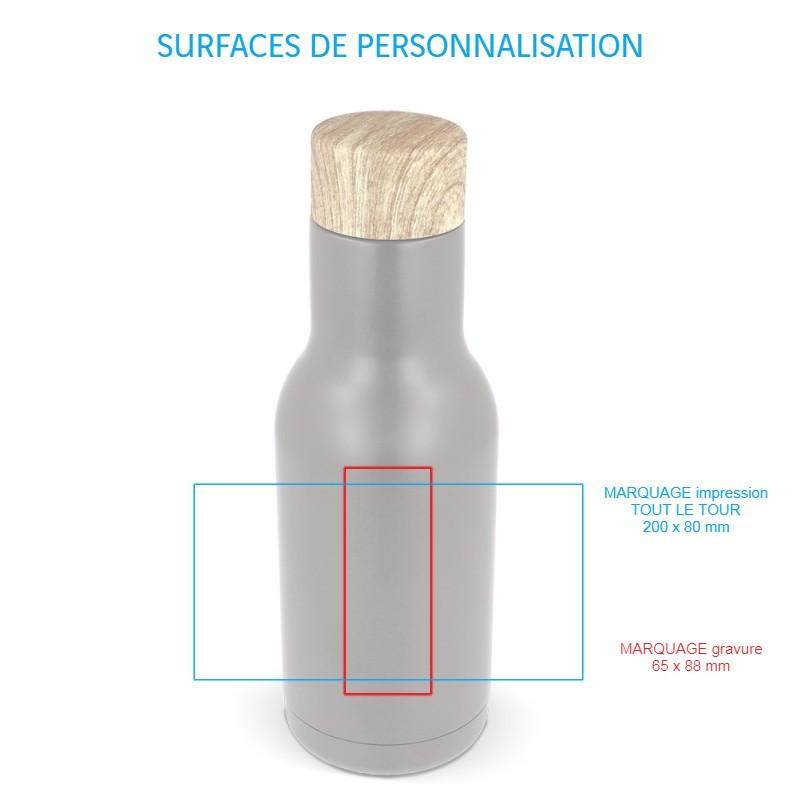 Gourde personnalisée Porto Fino, isotherme et design par Pimp my Bottle