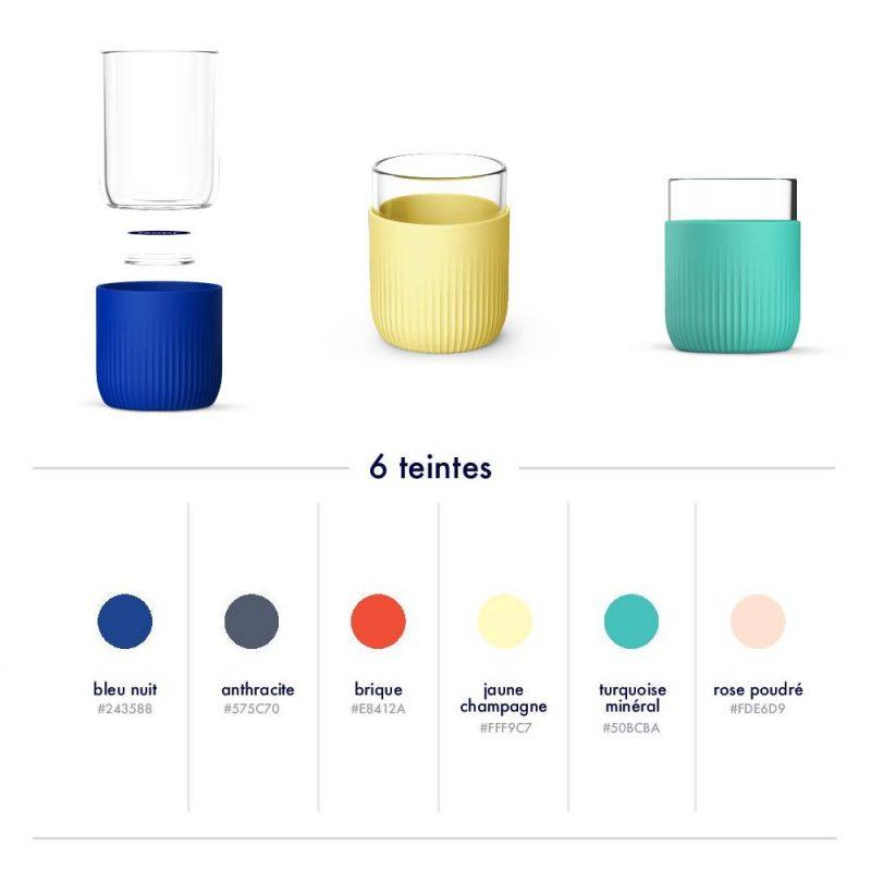 Gobelet personnalisable et réutilisable disponible en plusieurs coloris