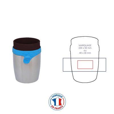 Mug personnalisable isotherme et fabriqué en France